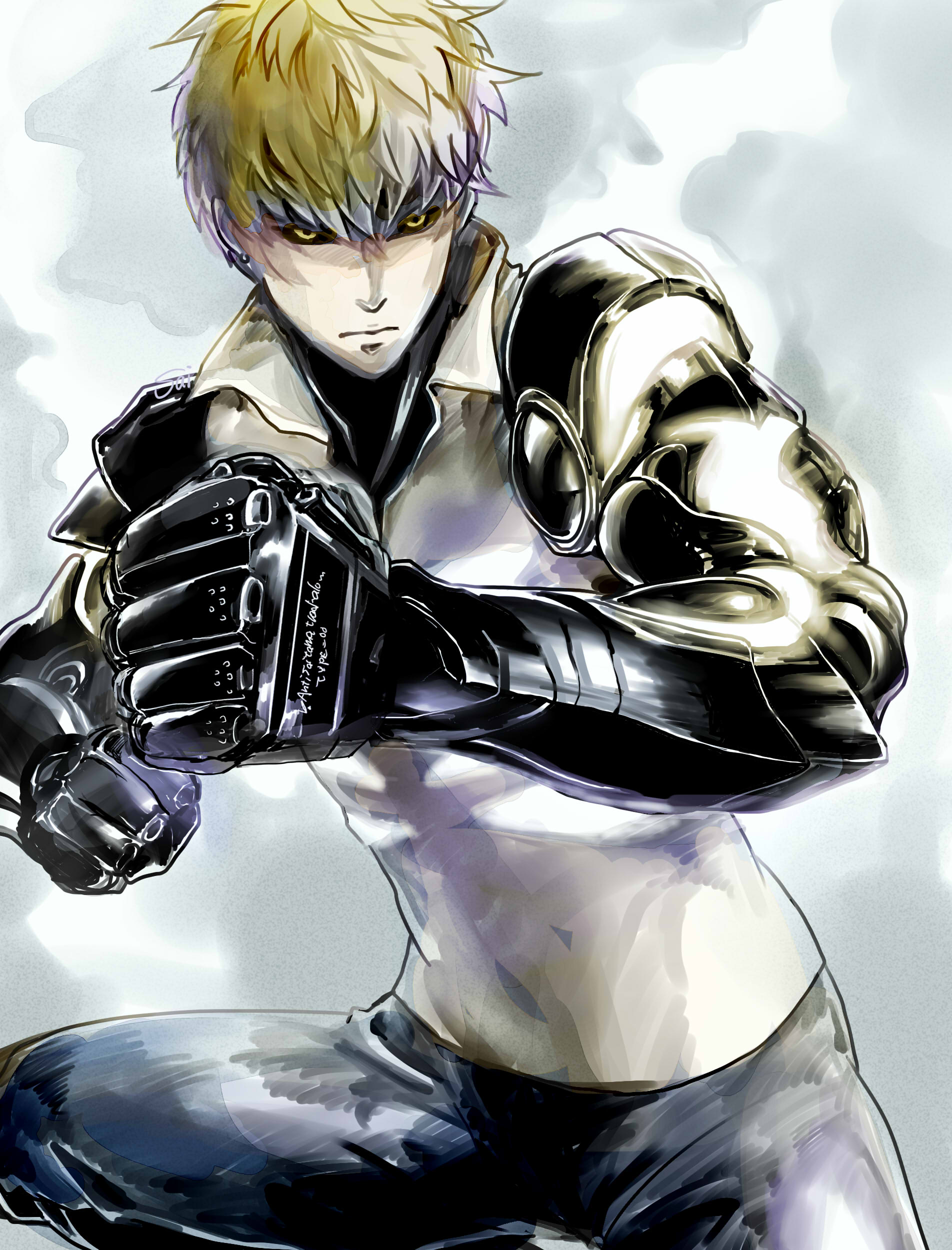 one punch man genos - photo #9