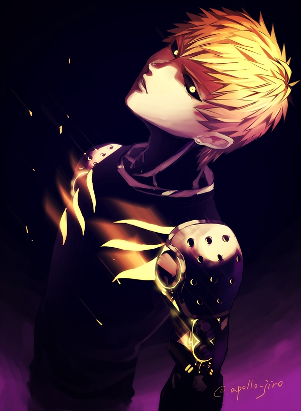 one punch man genos - photo #28