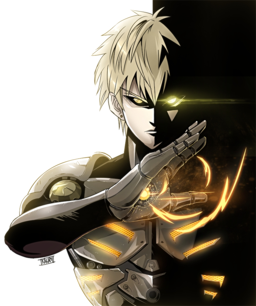 one punch man genos - photo #3