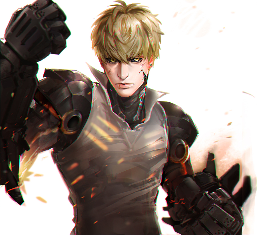one punch man genos - photo #42