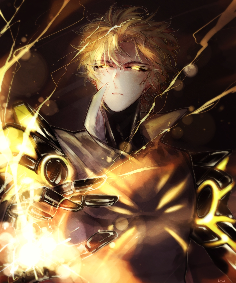one punch man genos - photo #46