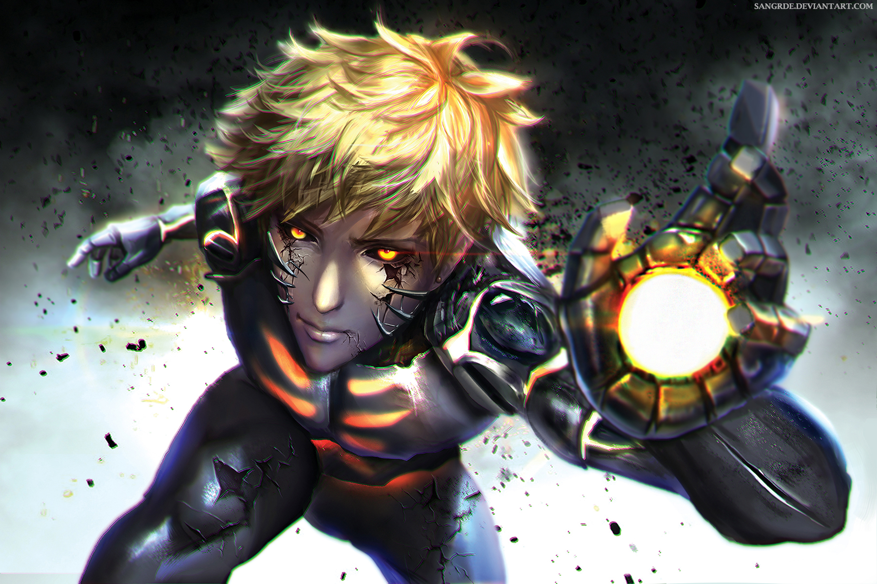 Genos (One Punch Man) - One Punch Man - Image #1960442 ...
