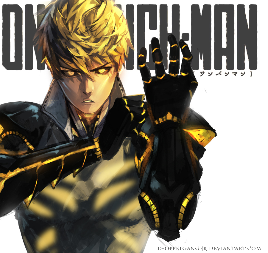 one punch man genos - photo #19