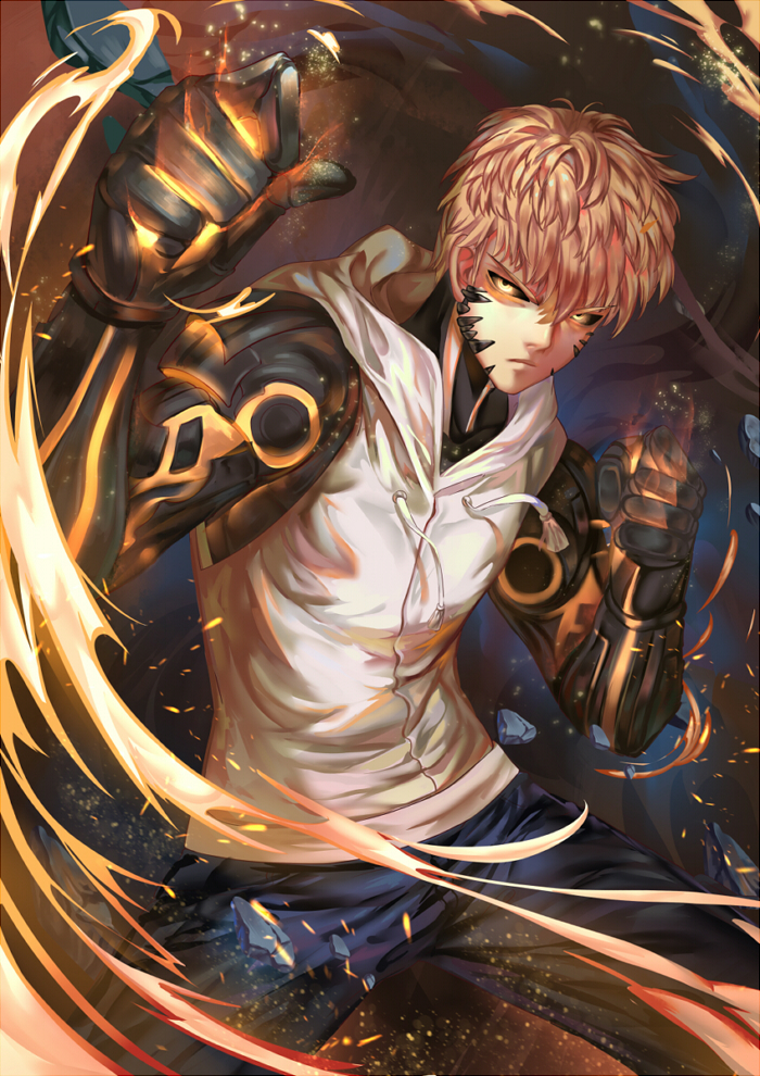one punch man genos - photo #7