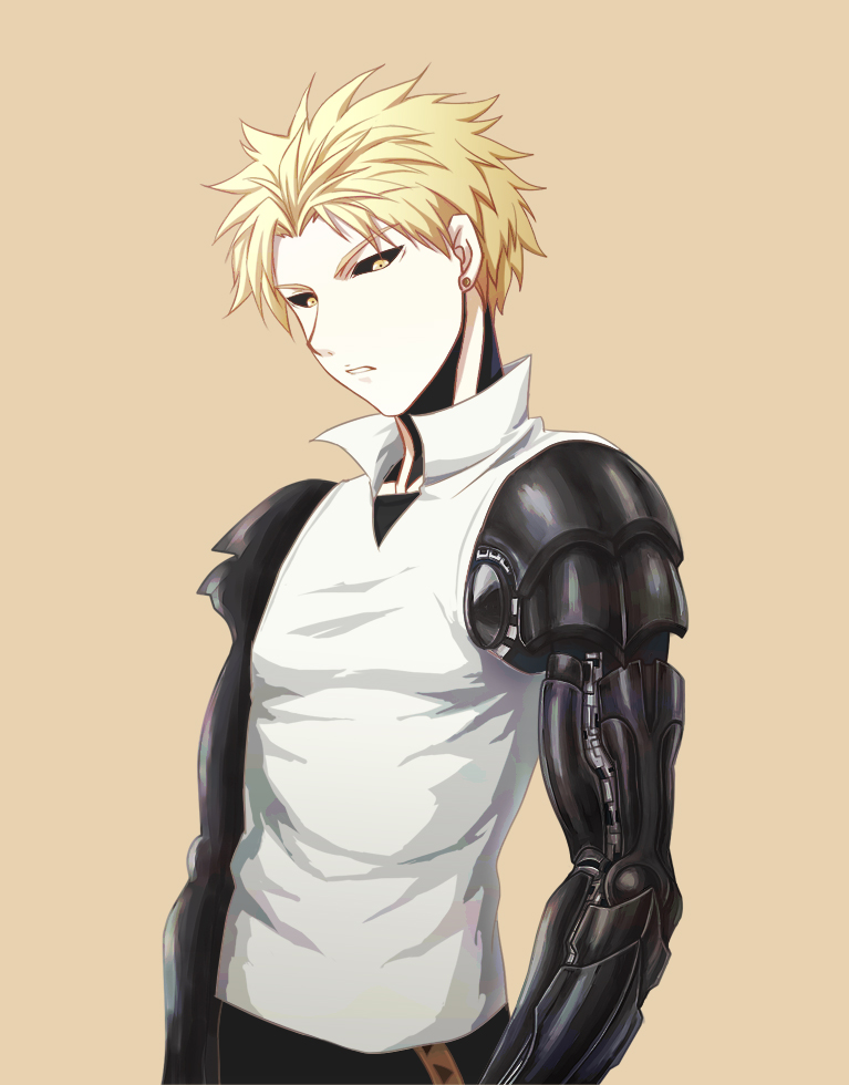one punch man genos - photo #6