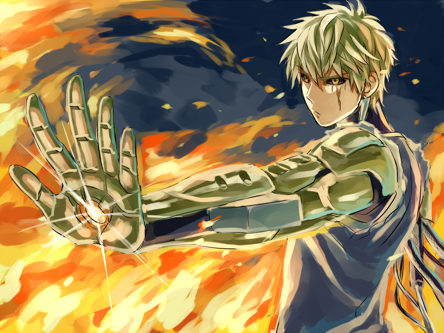 one punch man genos - photo #27