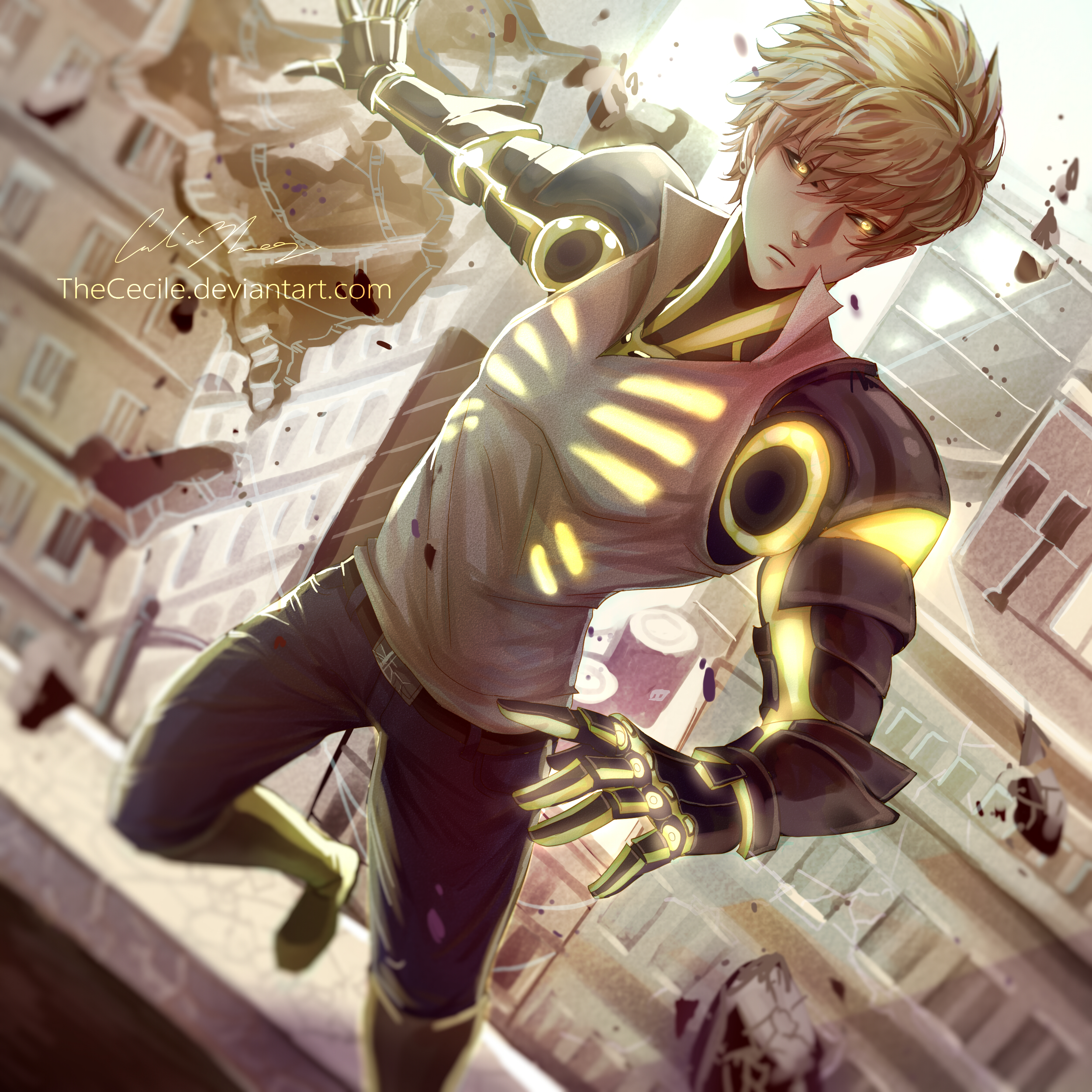 one punch man genos - photo #21