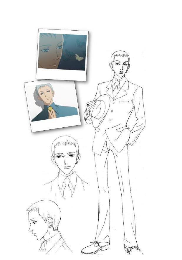 Tags: Anime, Yazawa Ai, Paradise Kiss, George Koizumi