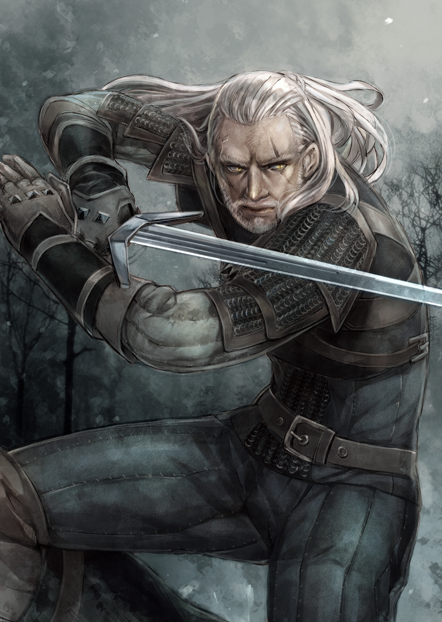 Geralt of Rivia - The Witcher | page 2 of 3 - Zerochan Anime