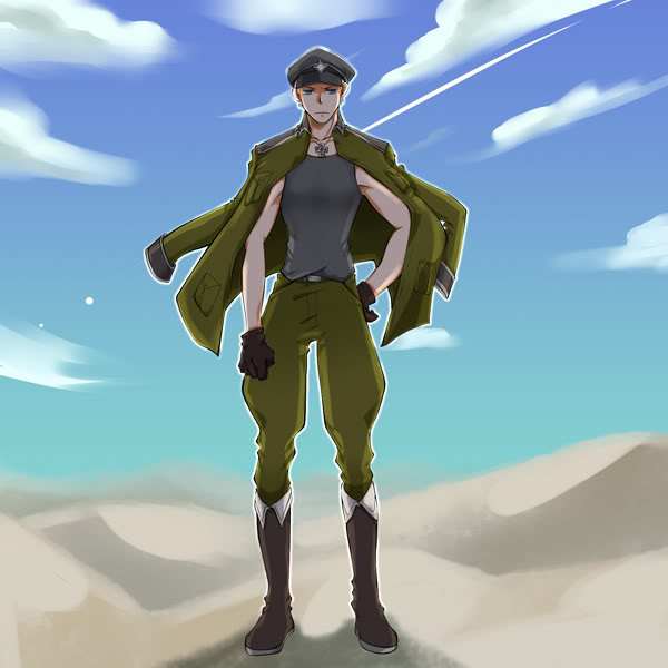 Tags: Anime, Axis Powers: Hetalia, Germany, Baggy Pants