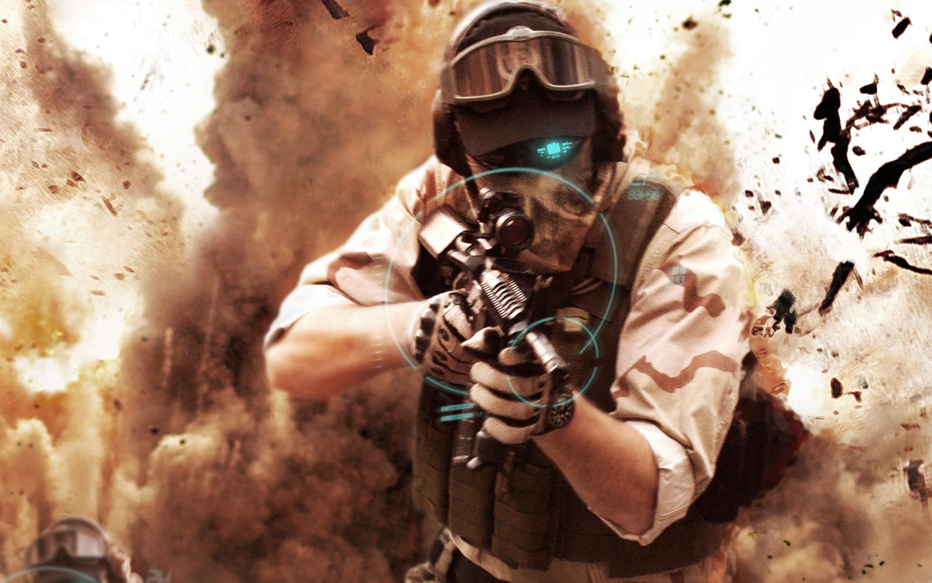 Soldier, Running, Ghost Recon Future Soldier, Rifle, Running Away, War