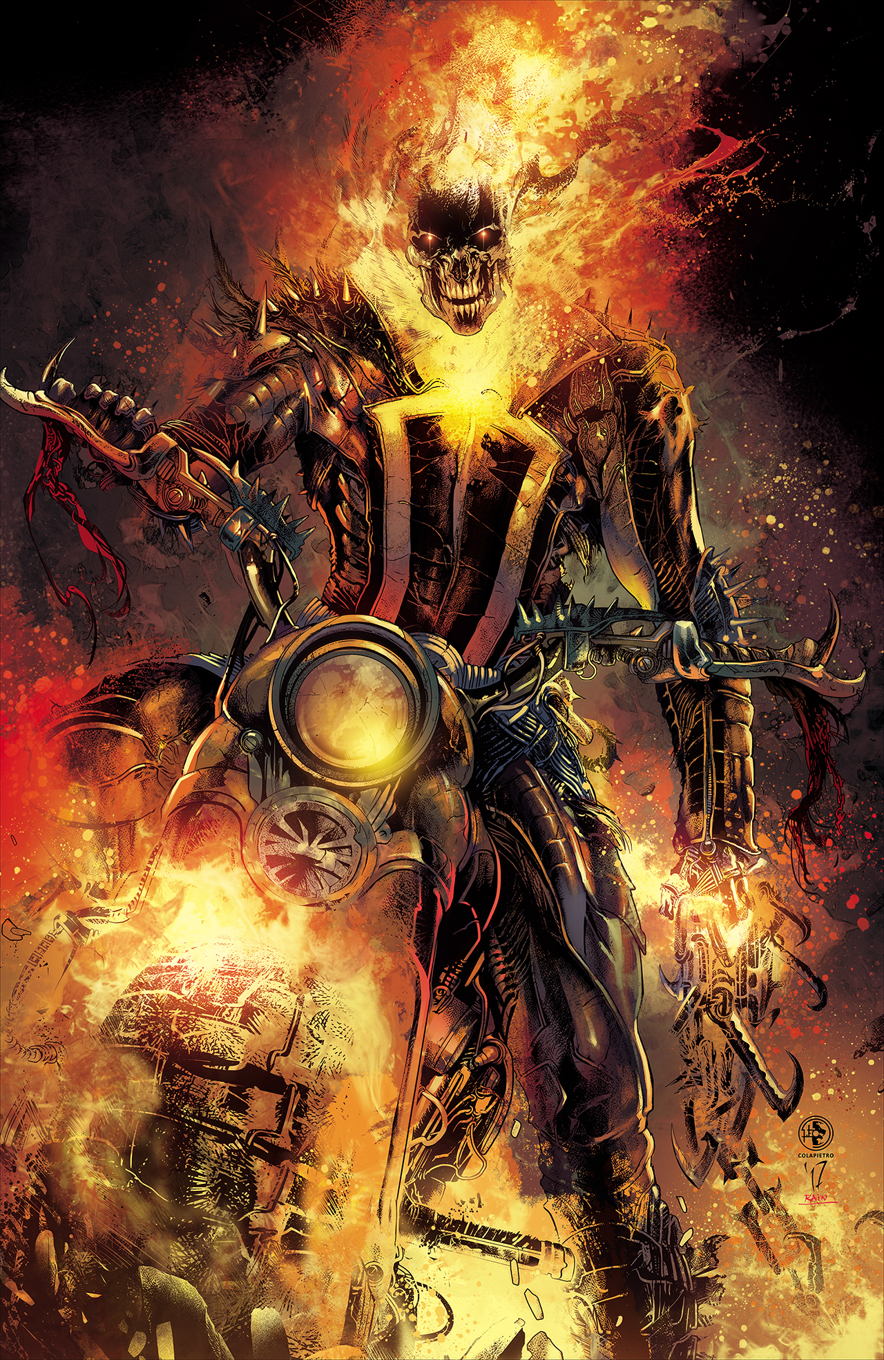 Ghost Rider - Marvel -...