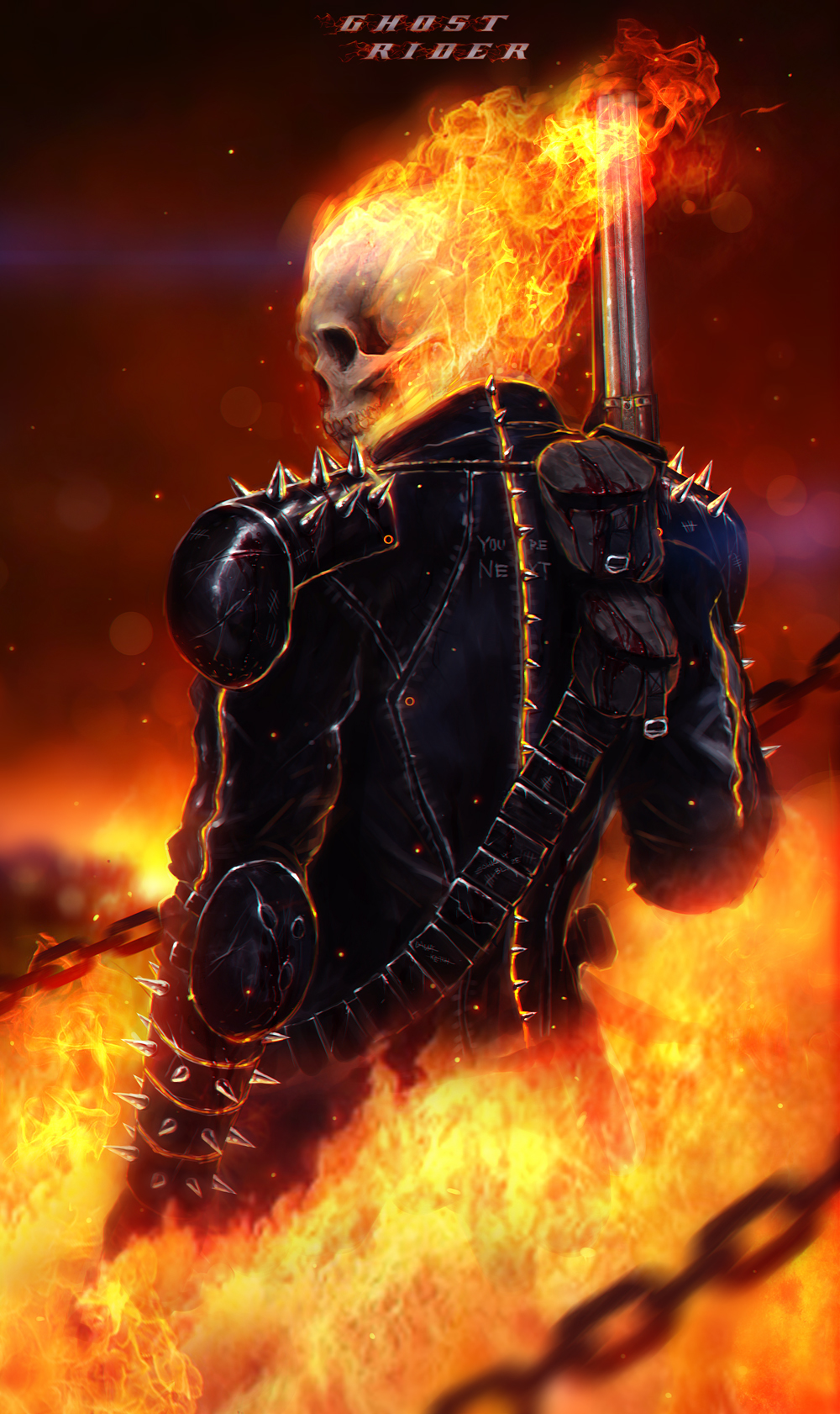 Ghost Rider Character Image 2317243 Zerochan Anime Image Board