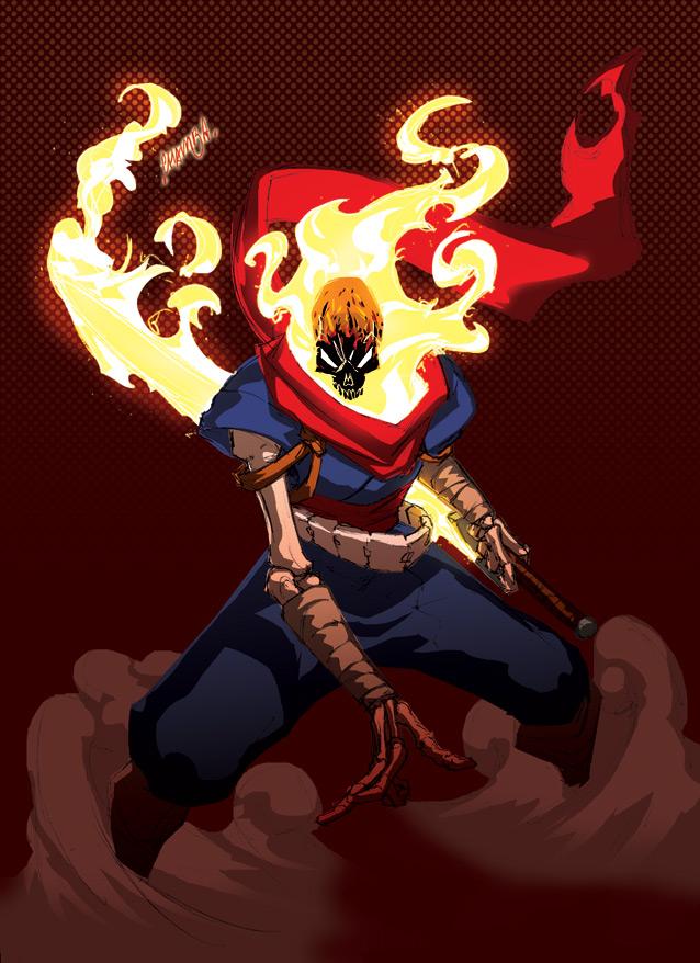 Ghost Rider Marvel Zerochan Anime Image Board