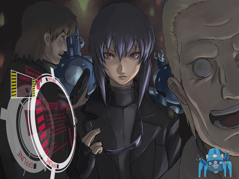 Ghost In The Shell Stand Alone Complex Solid State Society Image 525613 Zerochan Anime Image Board