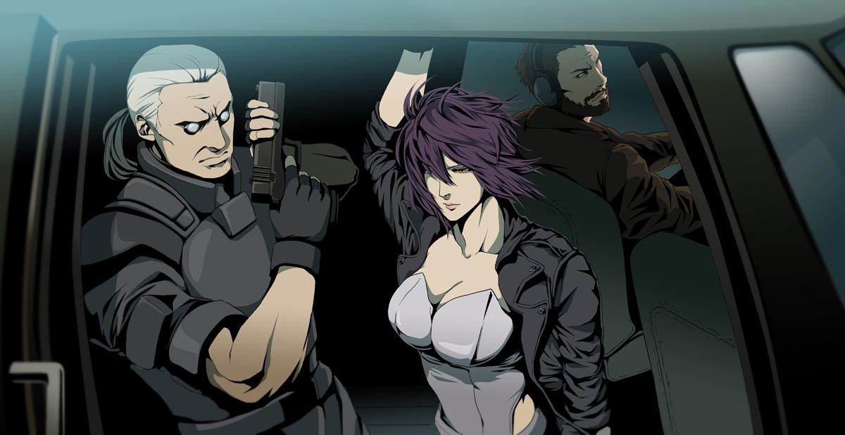 Batou Ghost In The Shell Koukaku Kidoutai Ghost In The Shell Zerochan Anime Image Board