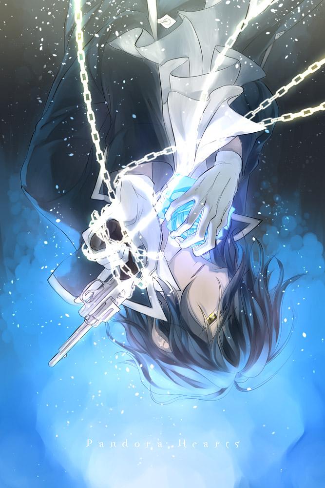 Tags: Anime, Pixiv Id 646348, Pandora Hearts, Gilbert Nightray, Mobile Wallpaper