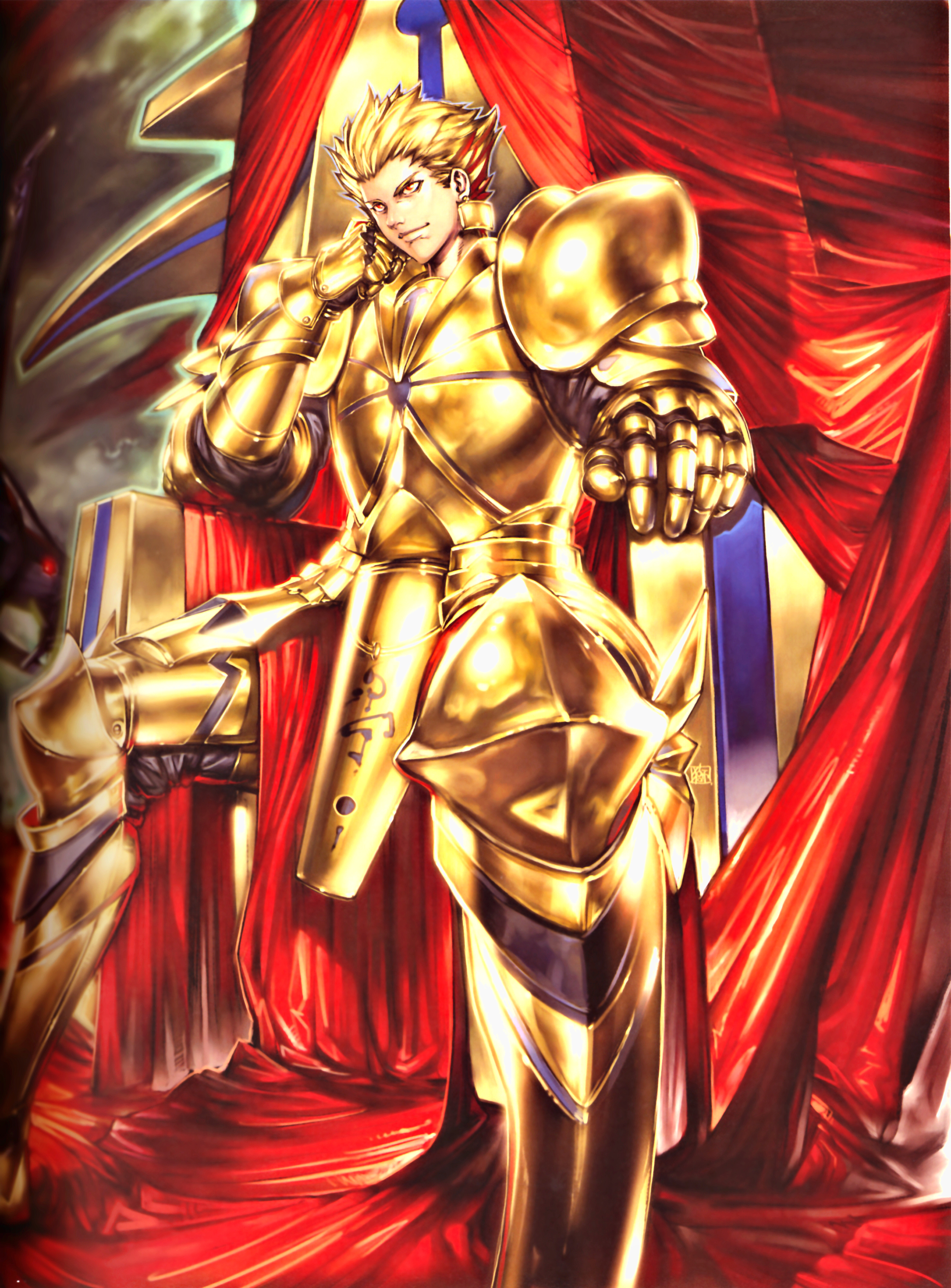 gilgameshs transformation In the actual fate route (after saber is summoned) we see gilgamesh in casual attire when he confronts saber and shirou before getting into his golden armour however, in unlimited blade works and.
