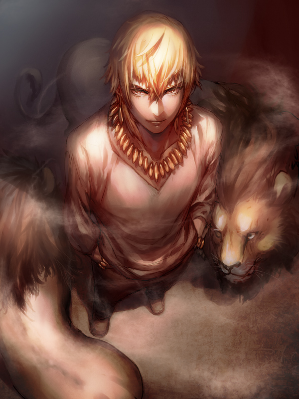 Tags: Anime, Kitunen, Fate/stay night, Gilgamesh, Pixiv, Fanart