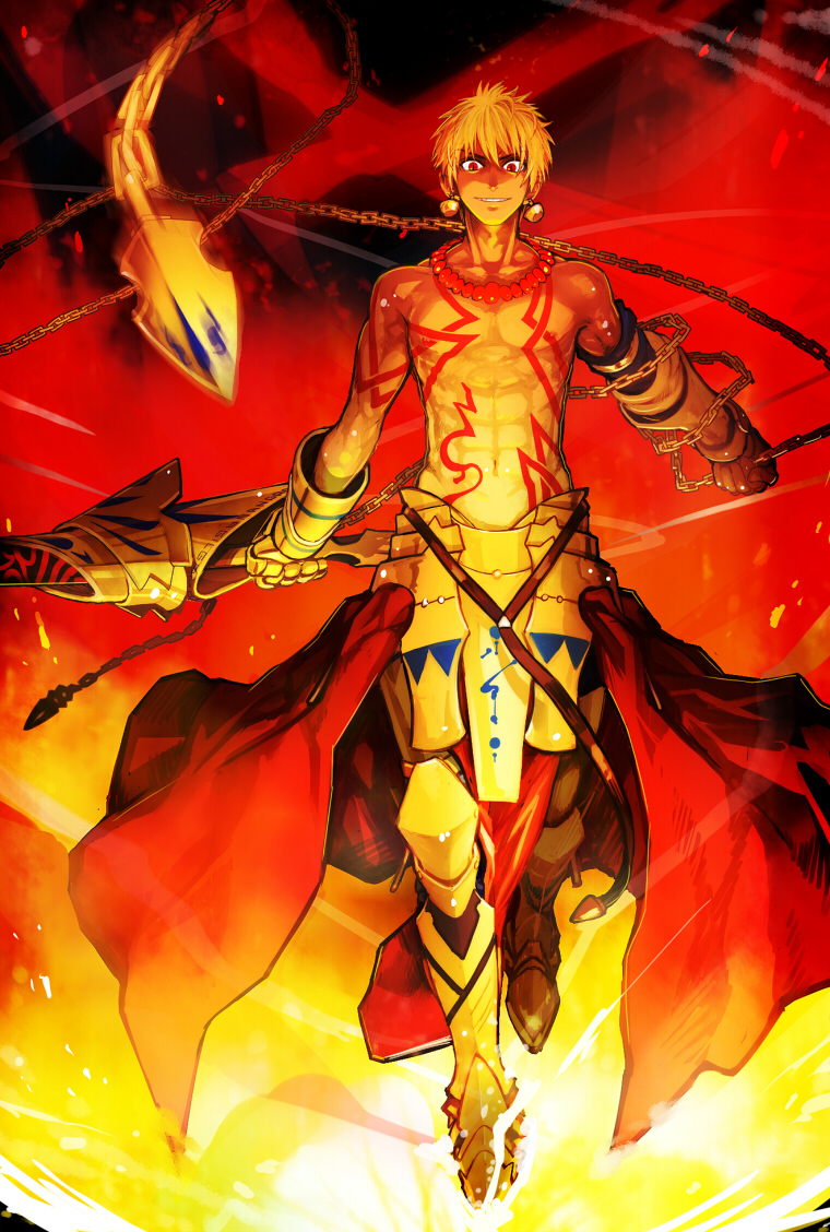 gilgamesh - fate  stay night - mobile wallpaper  937375