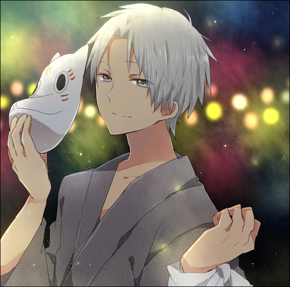 Tags: Anime, Pocky1202, Hotarubi no Mori e, Gin (Hotarubi no Mori e), Pixiv, Fanart, Fanart From Pixiv