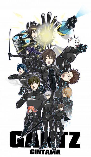 Tags: Anime, Pixiv Id 2258058, Gin Tama, Ko Elizabeth, Kagura (Gin Tama), Okita Sougo, Yamazaki Sagaru