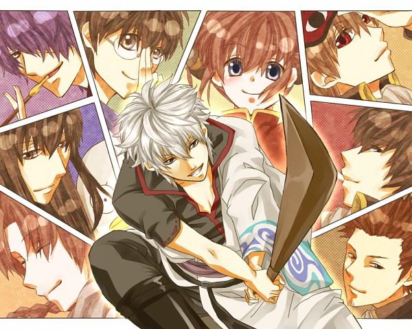 Tags: Anime, Kimikiku, Gin Tama, Takasugi Shinsuke, Shimura Shinpachi, Sakata Gintoki, Kondo Isao