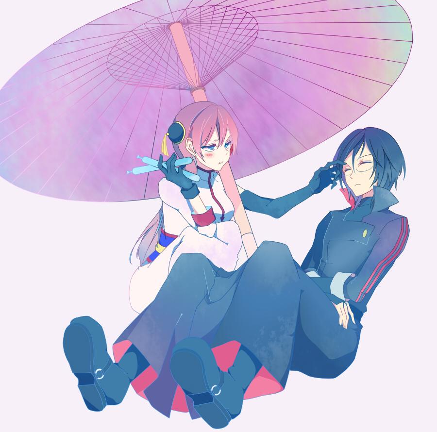 gintama kagura and shinpachi - photo #13