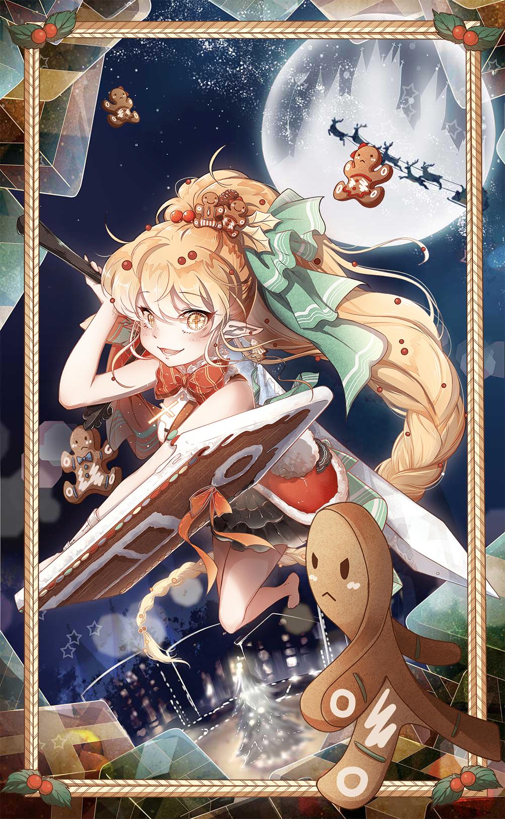 Gingerbread (Food Fantasy) Image #2401346 - Zerochan Anime