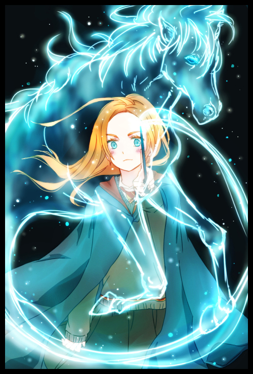 Tags Anime Pixiv Id 2372422 Harry Potter Ginny Weasley Expecto Patronum
