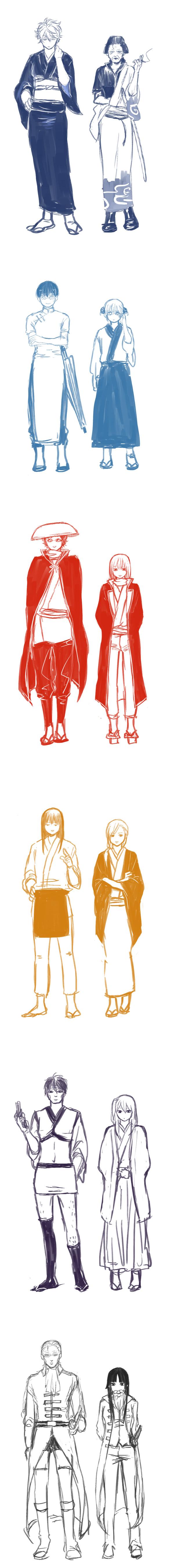 Tags: Anime, Jim, Gintama, Sakamoto Tatsuma, Kijima Matako, Imai Nobume, Shimura Shinpachi, Sasaki Isaburo, Otose (Gin Tama), Katsura Kotaro, Mutsu (Gin Tama), Sakata Gintoki, Kagura (Gin Tama), Silver Soul