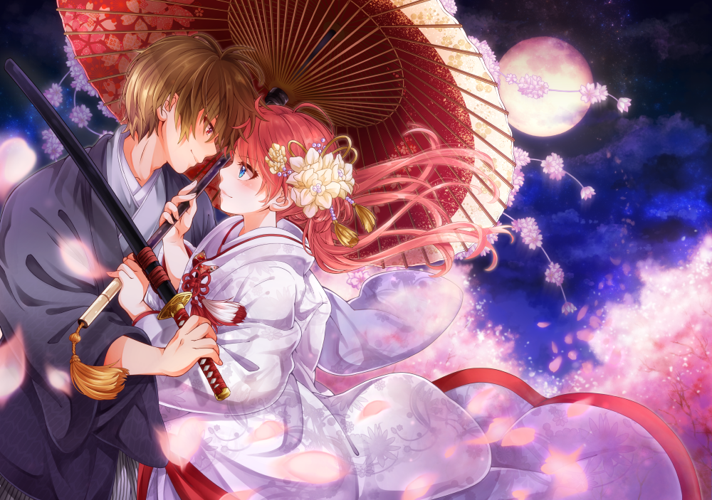 Gintama kagura wedding