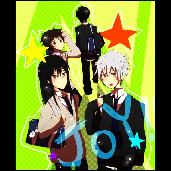Tags: Anime, Gintama, Takasugi Shinsuke, Kagura (Gin Tama), Sakata Gintoki, Sakamoto Tatsuma, Shimura Shinpachi, Katsura Kotaro, Artist Request