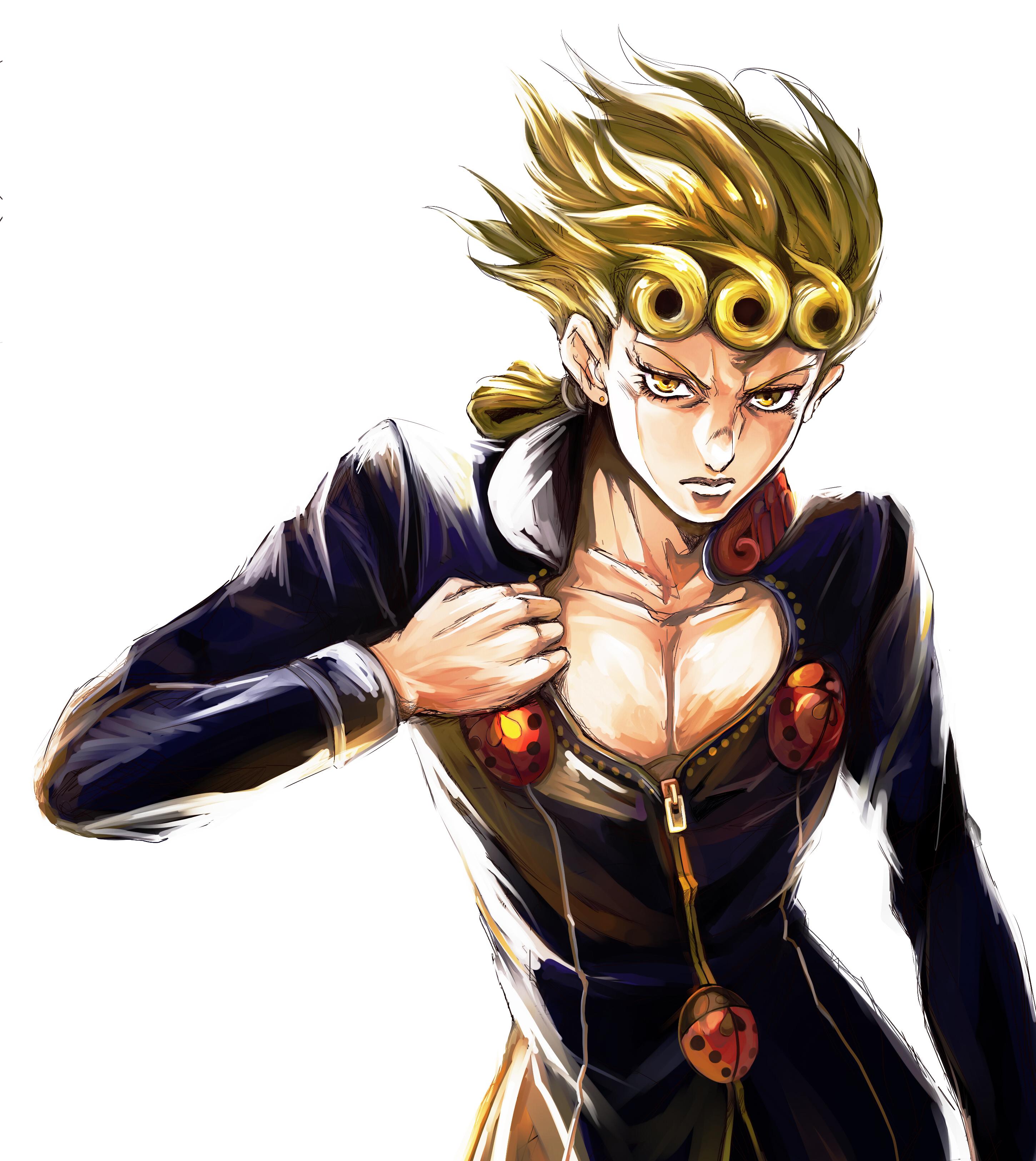 Giorno Giovanna Vento Aureo Zerochan Anime Image Board