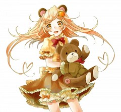 Girl With Bear (Madoka Magica)