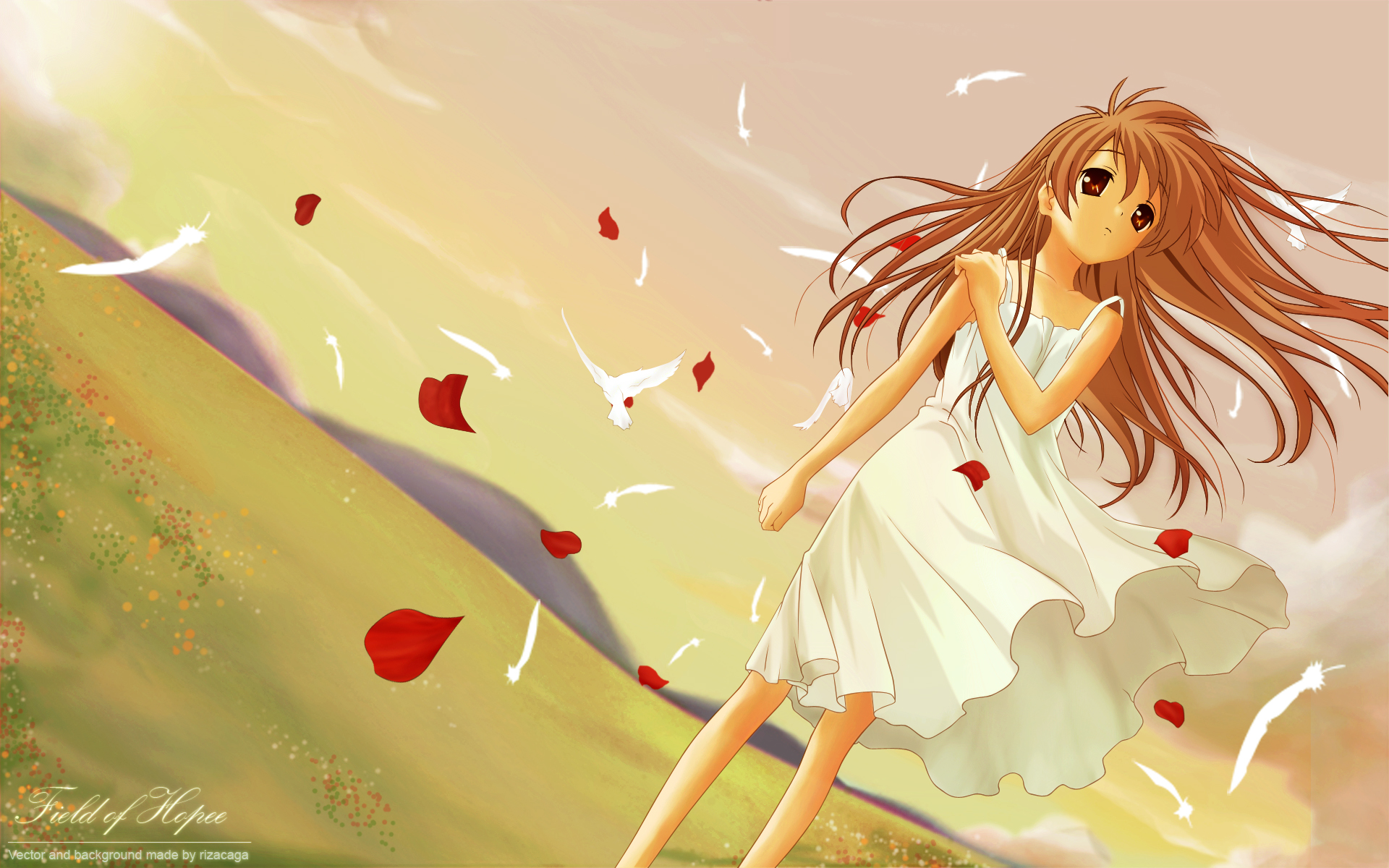 girl from the illusionary world - clannad - wallpaper  912952