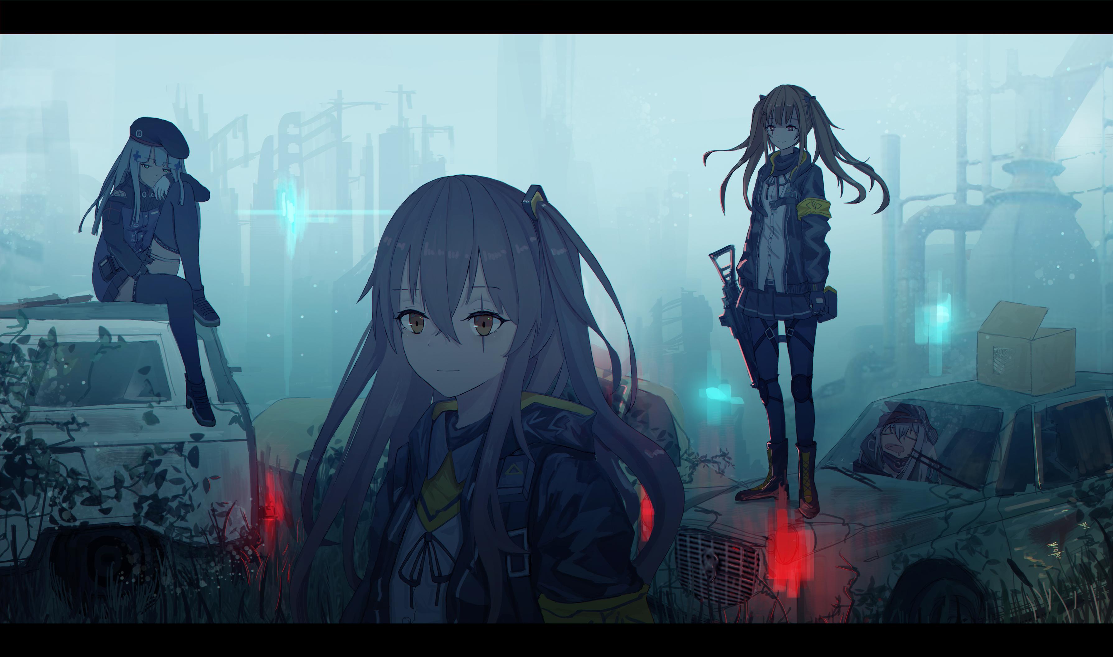 Ump9 Girls Frontline - Zerochan Anime Image Board-9020