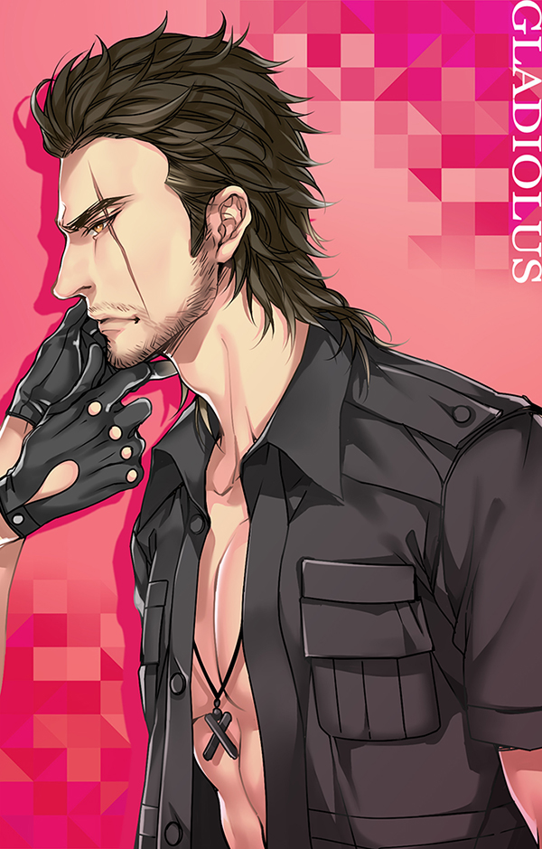 Tags: Anime, Pixiv Id 2794717, Final Fantasy XV, Gladiolus Amicitia, Fanart, Fanart From Pixiv, Pixiv