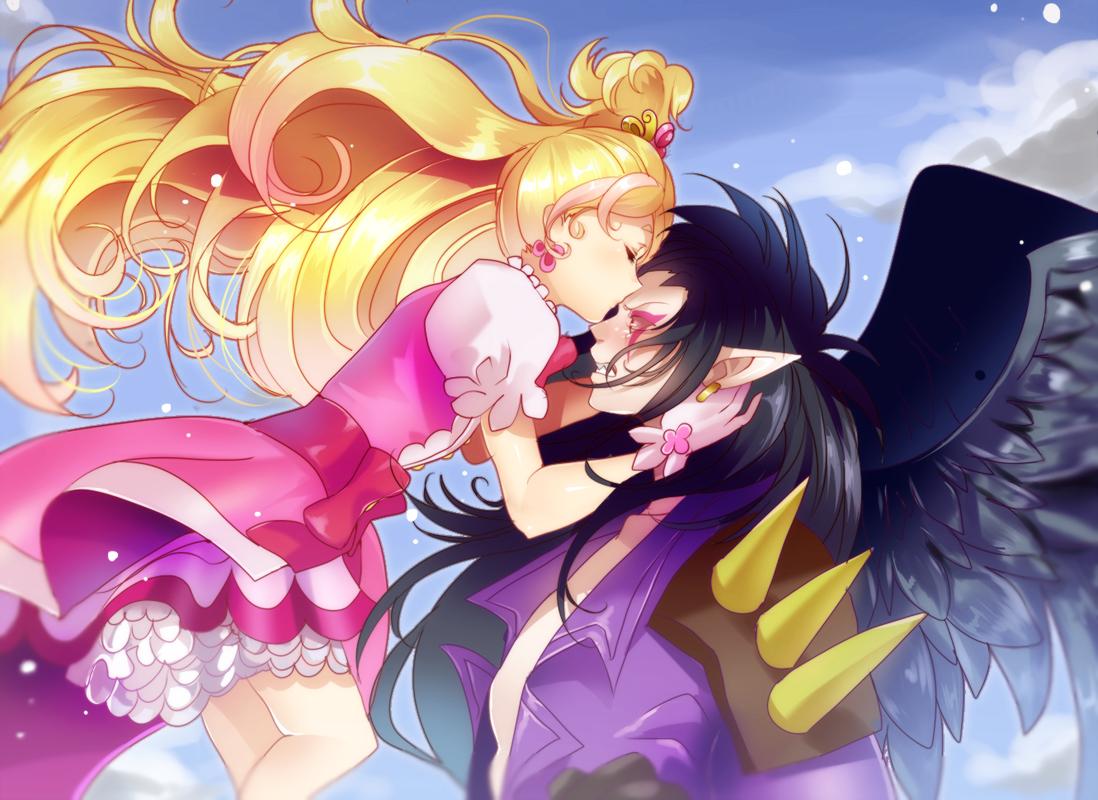 Tags: Anime, Pixiv Id 2172862, Go! Princess Precure, Close (Pretty ...