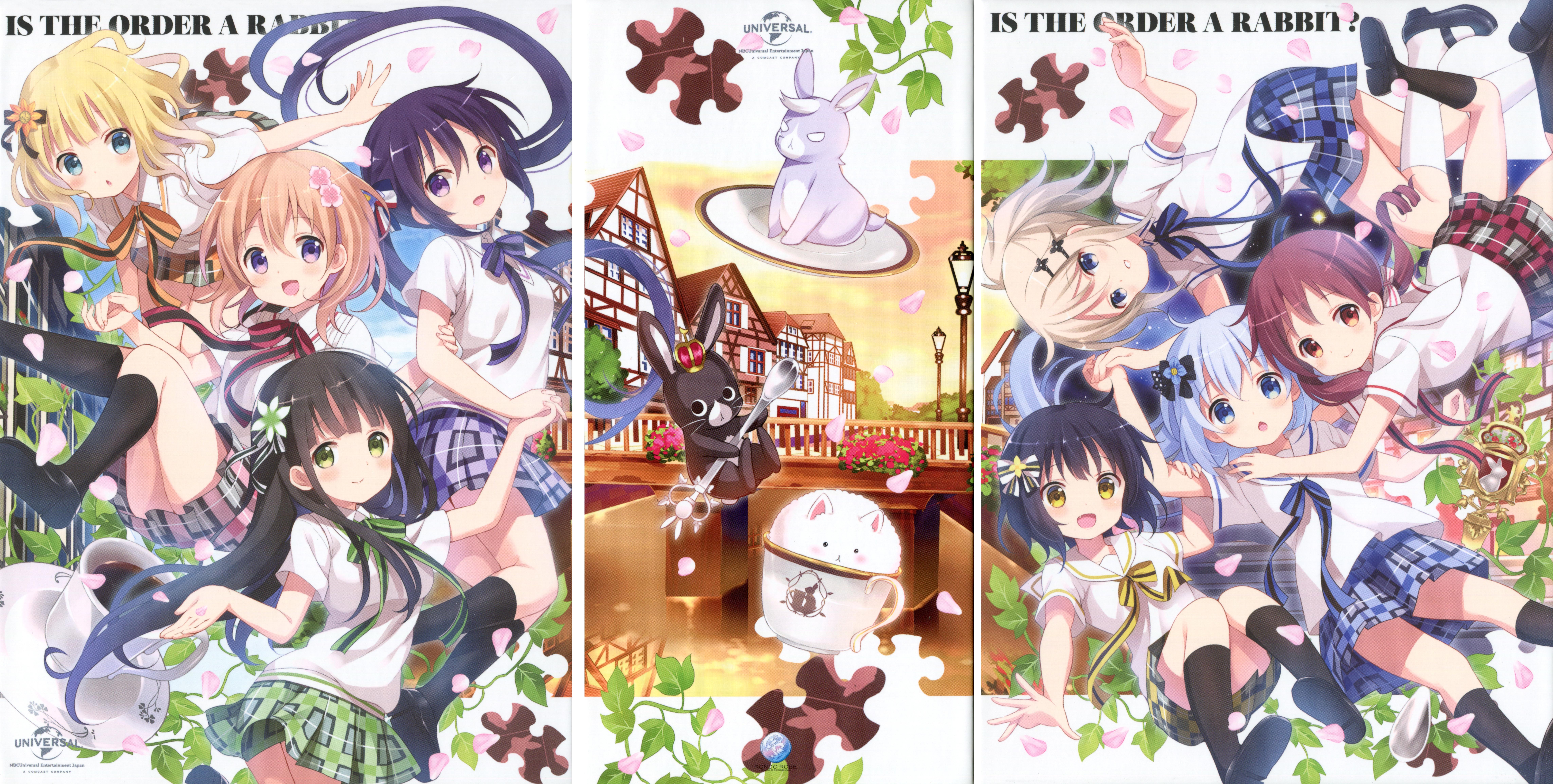 Gochuumon Wa Usagi Desu Ka Is The Order A Rabbit Wallpaper