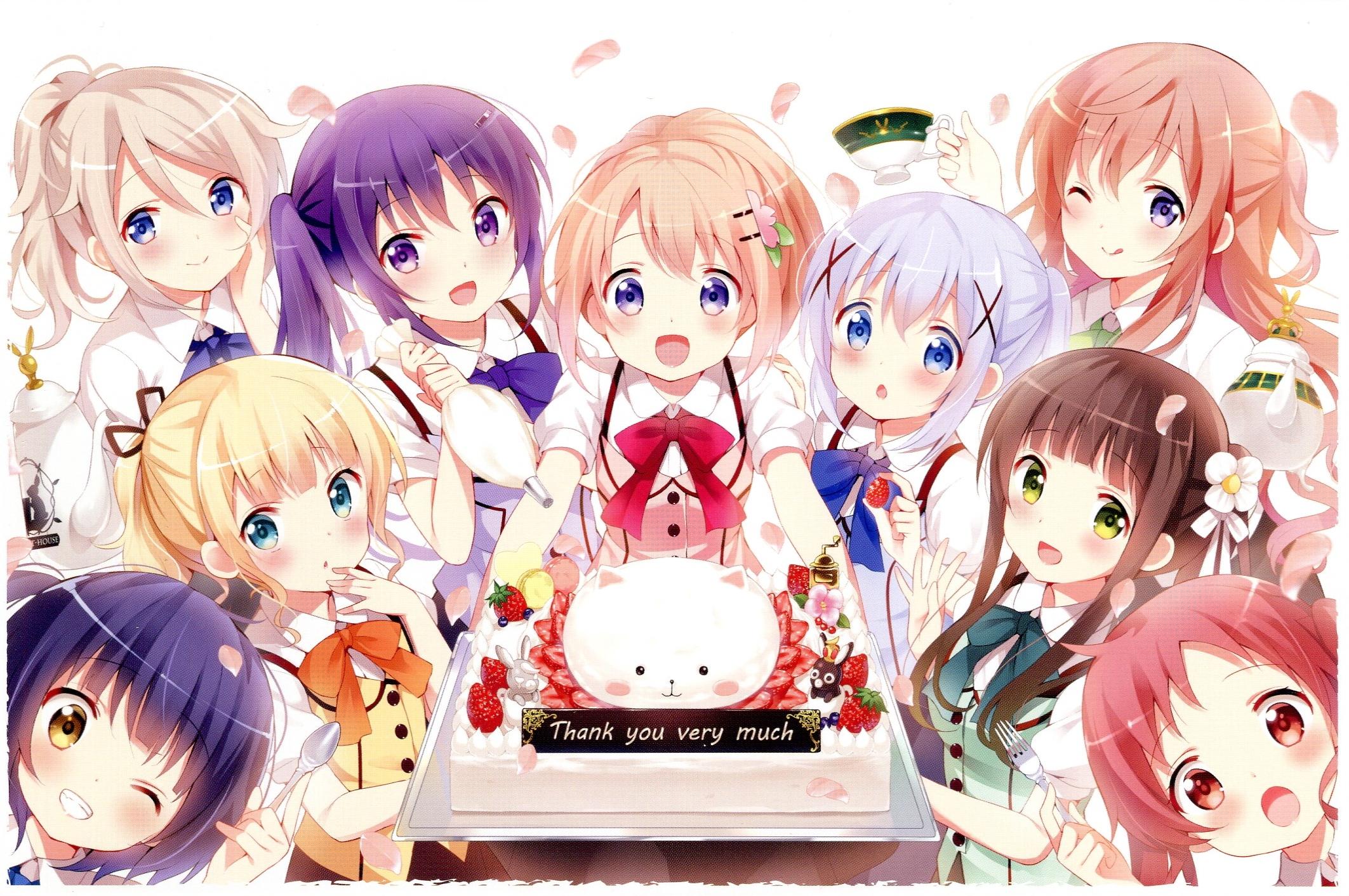 Gochuumon Wa Usagi Desu Ka Is The Order A Rabbit Zerochan