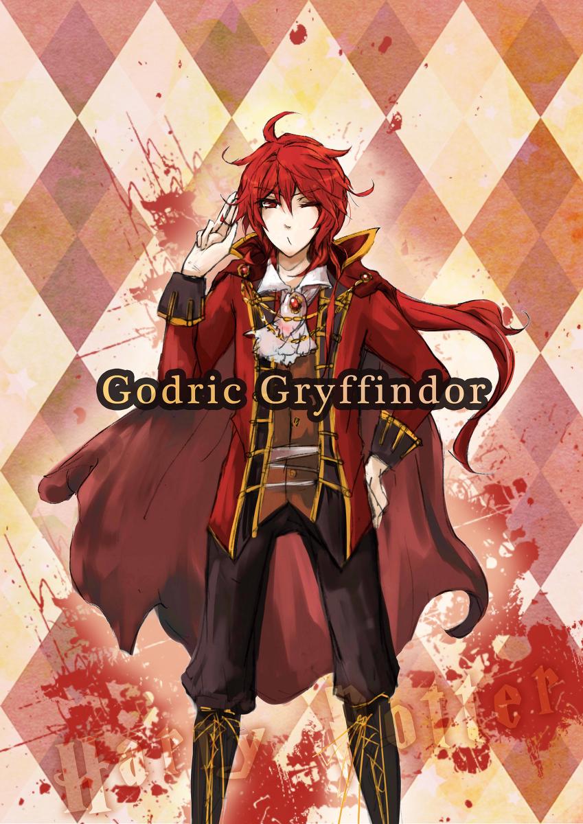Anime Characters Hogwarts Houses : Godric gryffindor mobile wallpaper zerochan
