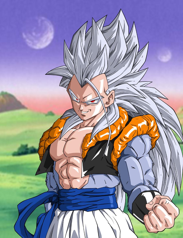 Super saiyan 5 dragon ball zerochan anime image board - Super sayen 5 ...