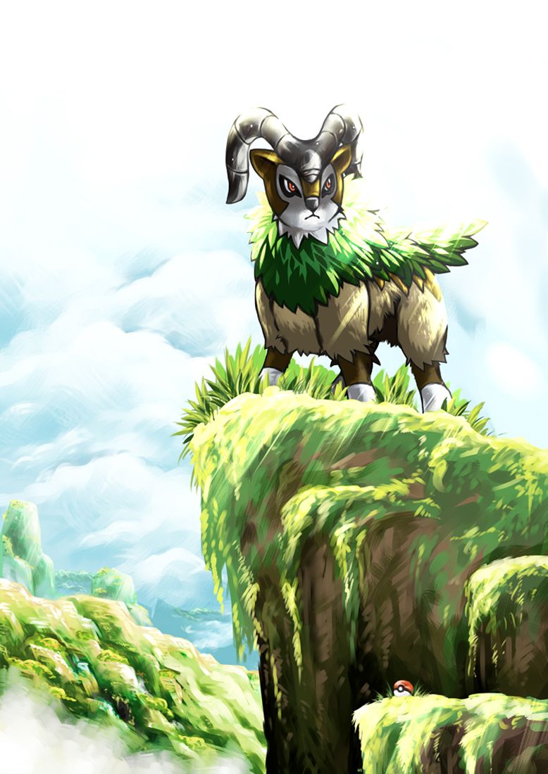 Gogoat - Pokémon | page 2 of 2 - Zerochan Anime Image Board | 778 x 1100 jpeg 568kB