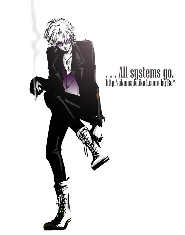 Tags: Anime, Re°, Katekyo Hitman REBORN!, Gokudera Hayato, Adjusting Shoe, Pixiv, Fanart