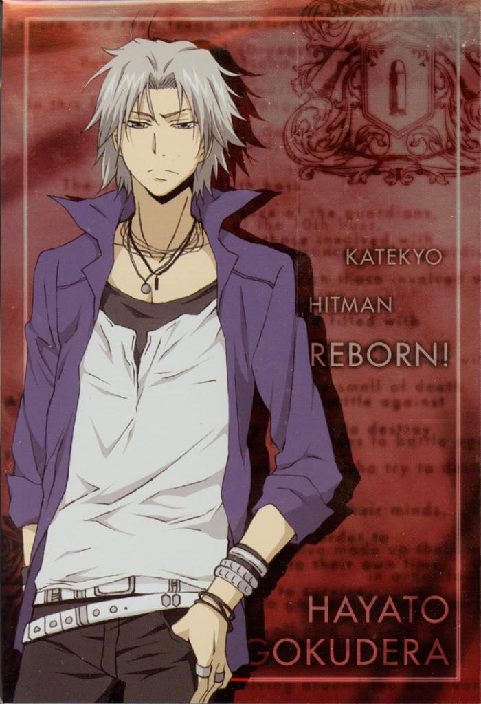 Gokudera Hayato - Katekyo Hitman REBORN! - Zerochan Anime ...