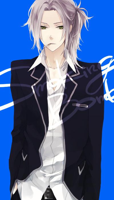 Tags: Anime, Iccan, Katekyo Hitman REBORN!, Gokudera Hayato, Cigarette