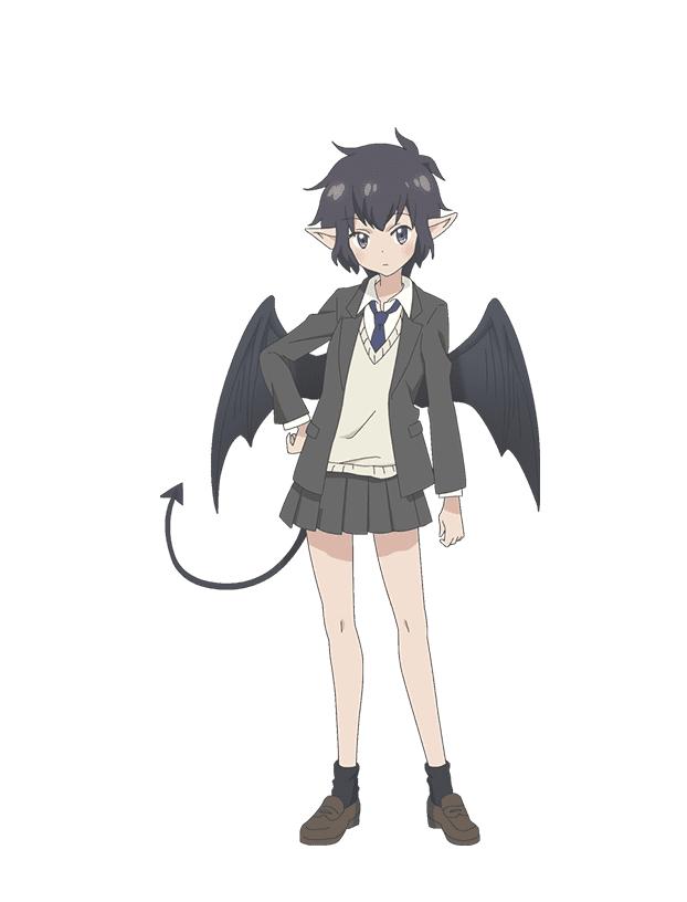 Tags: Anime, Shibuya Sakae, Encourage Films, Centaur no Nayami, Gokuraku Nozomi, Cover Image, PNG Conversion, Official Art