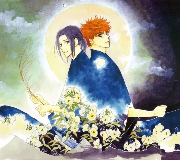 Tags: Anime, Takao Shigeru, Golden Days, Hana To Yume Calendar 2007