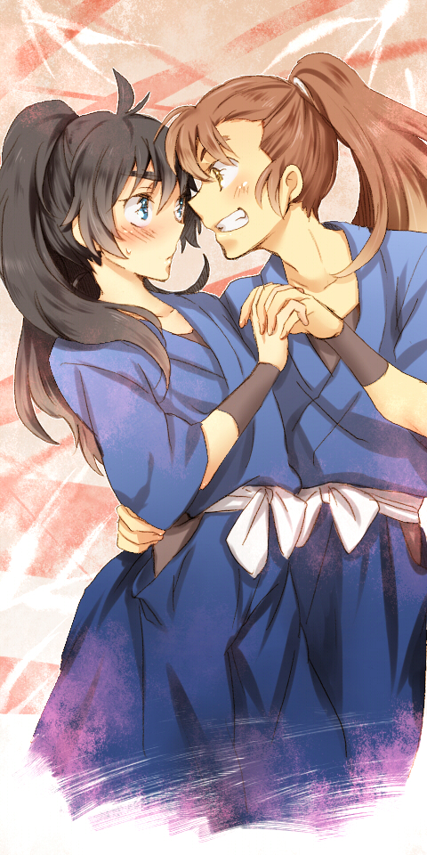 Tags: Anime, Pixiv Id 3398181, Rakudai Ninja Rantarou, Ohama Kanemon, Kukuchi Heisuke, Pixiv, Fanart, Gonensei